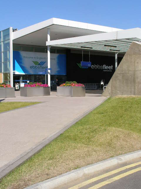 Accessible Enterance at Ebbsfleet for Car Parking
