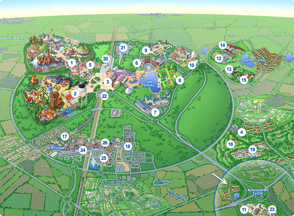 Book Tickets Ebbsfleet to Disneyland Paris Disney Europe Paris